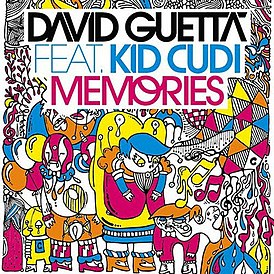 David Guetta & Kid Cudi - Memories (2021 Remix) постер